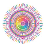 Hearts Song - Mandala by Europa Gitte
